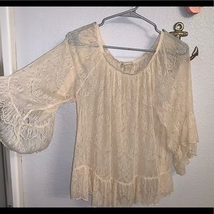 🔥Forever 21 lace blouse 🌸